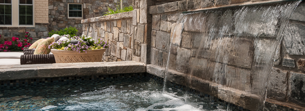 water features for gardens - McHale Landscape Design
